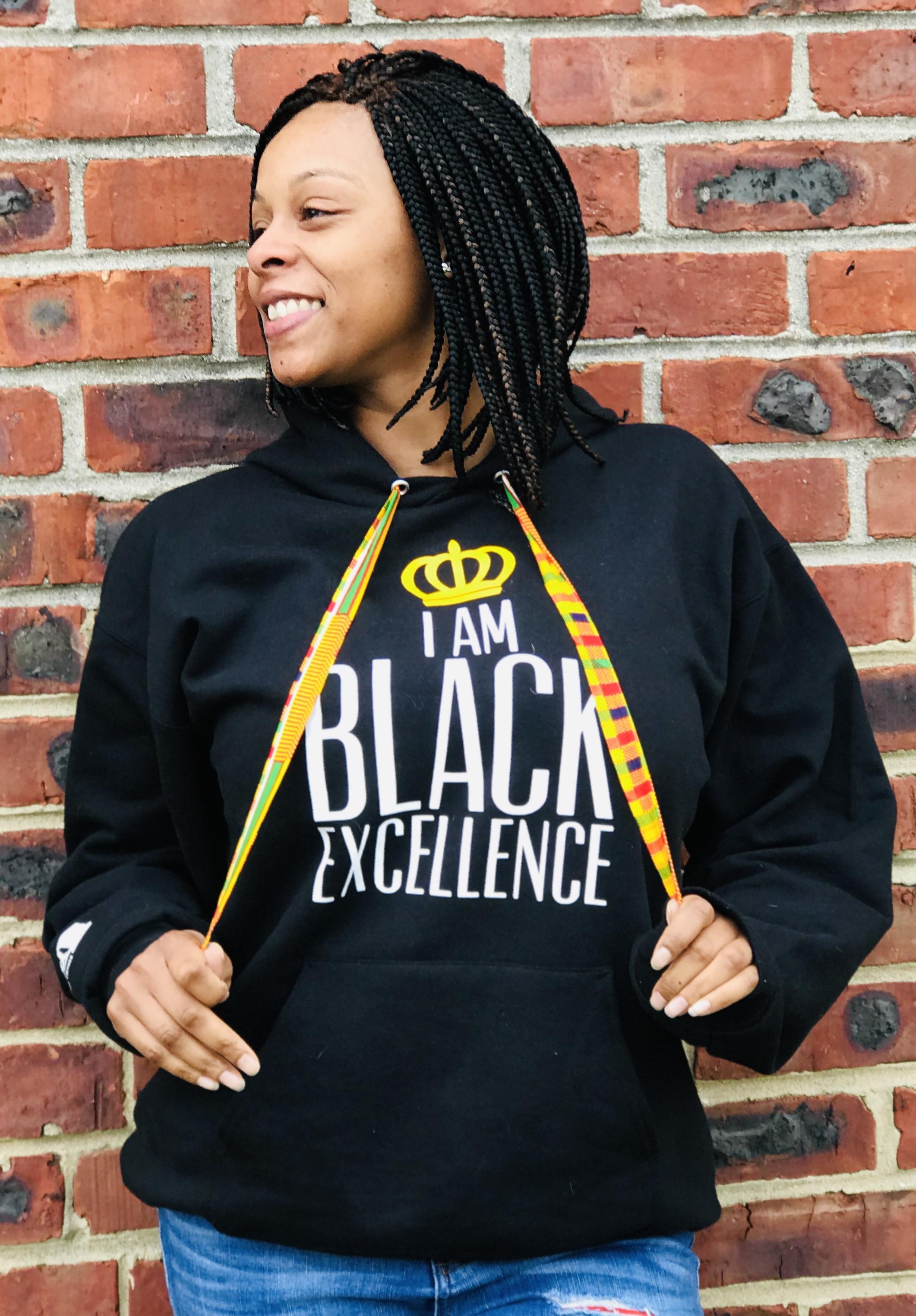 THREAD Black Excellence Hoodie