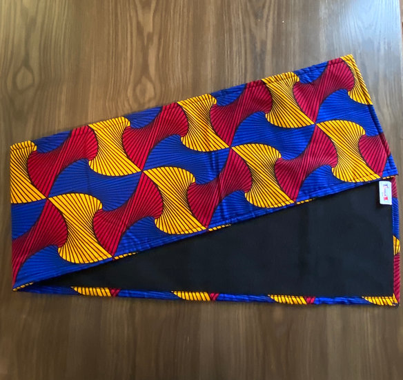 THREAD Prime Ankara Fleece-Lined Scarf