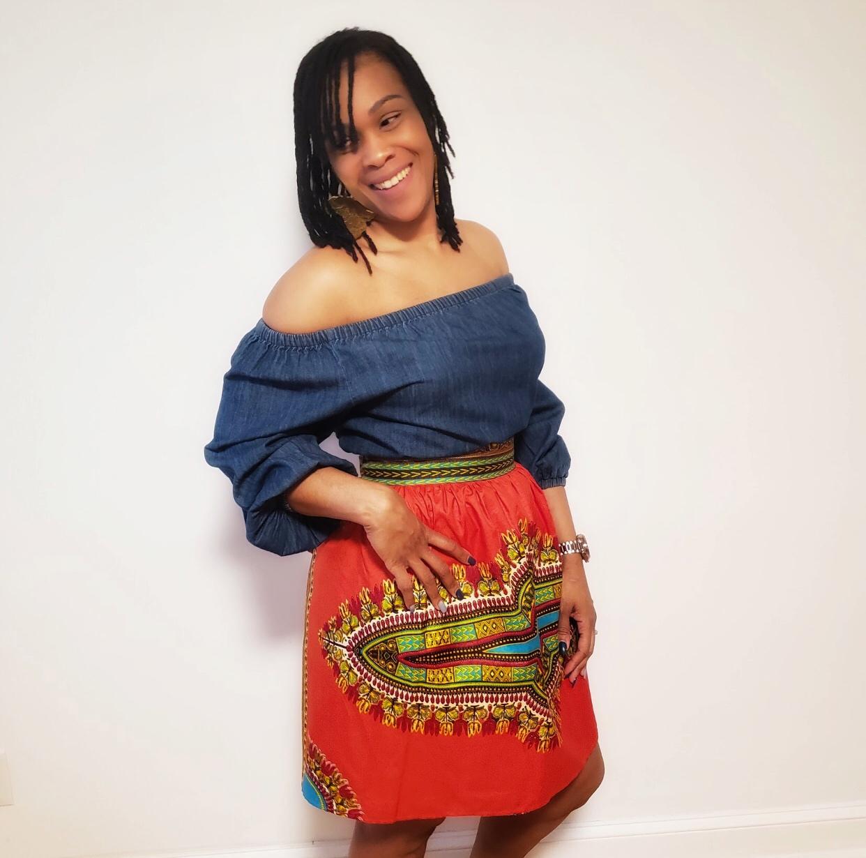 THREAD Short Skirt
