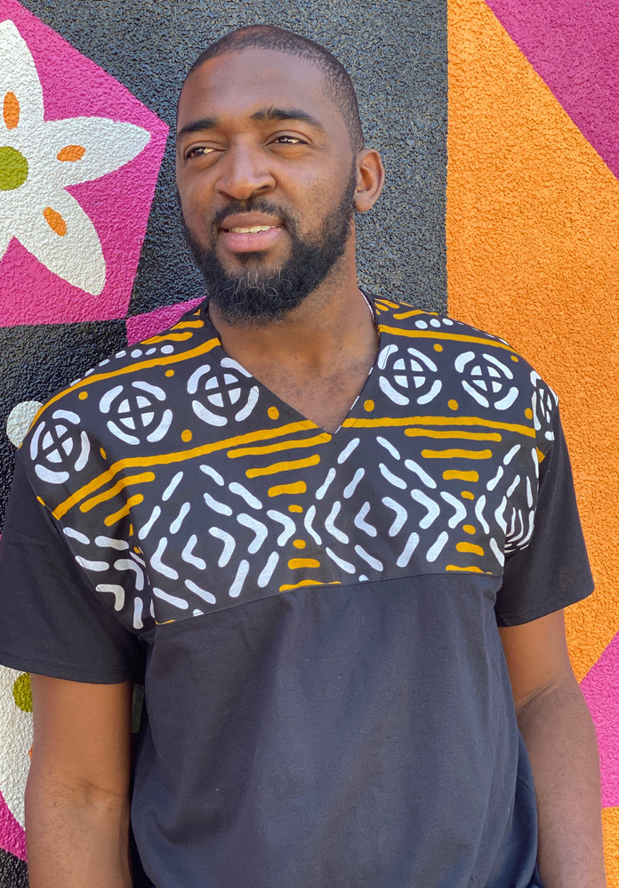 THREAD Lumumba Men's Shirt