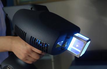 エキシマライト照射装置設置しました!