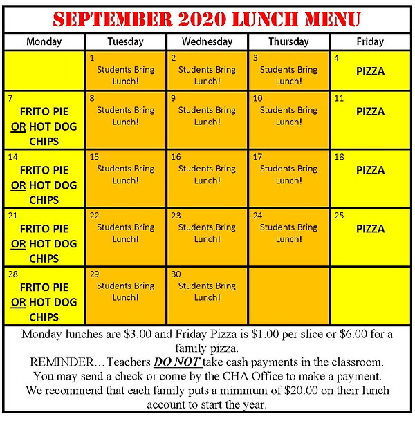 2020 Sept Lunch