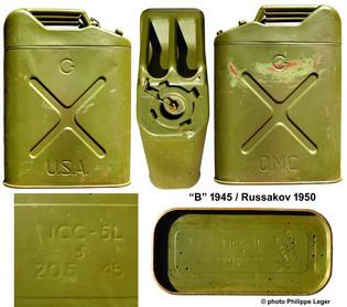 B 1945 & Russakov 1950