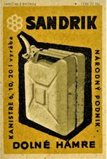 Publicité Sandrik