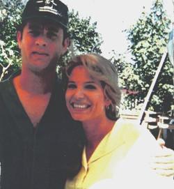Tom Hanks and Barbara Anne Klein