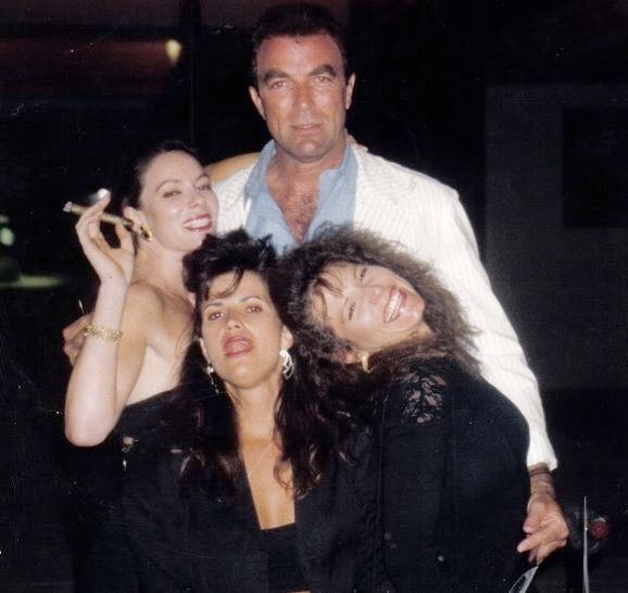 Tom Selleck BH, Diana Cuevas & SB