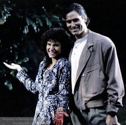 Miles O'Keefe & Barbara Anne