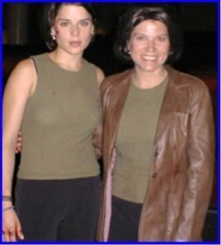 Neve Campbell & Barbara Anne Klein