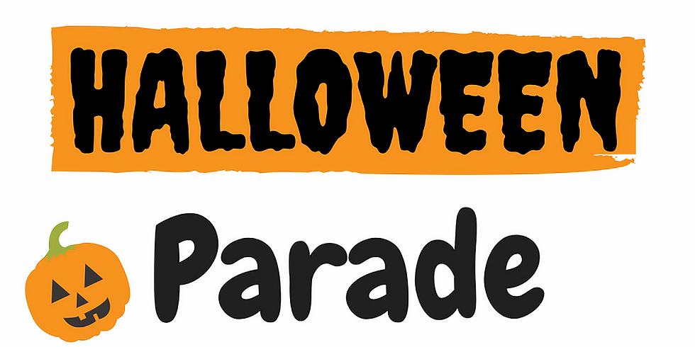 Halloween Parade (for families)