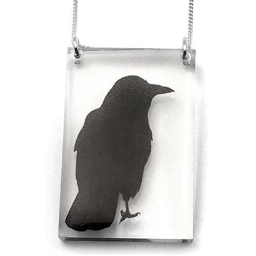 Tall Crow Pendant (W)