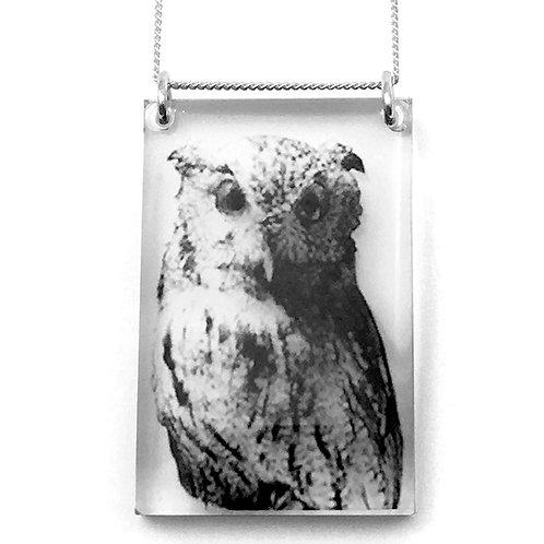 Tall Owl Pendant (W)