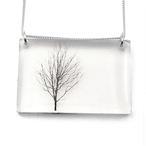 Side Tree Pendant