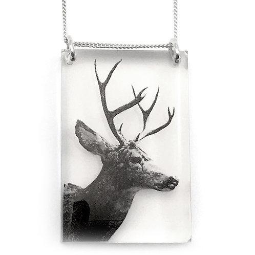 Tall Deer Pendant (W)
