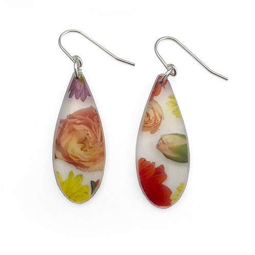 Drip Wallpaper Earrings