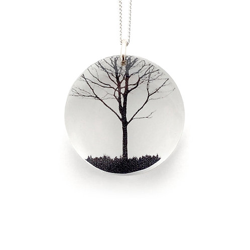 Round City Tree Pendant