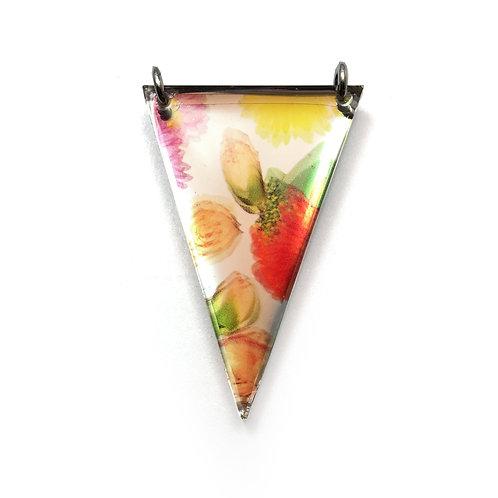 Mirror Triangle Wallpaper Pendant