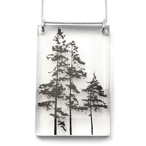 Tall Forest Pendant