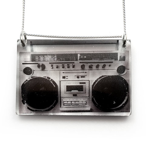 Side Boom Box Pendant