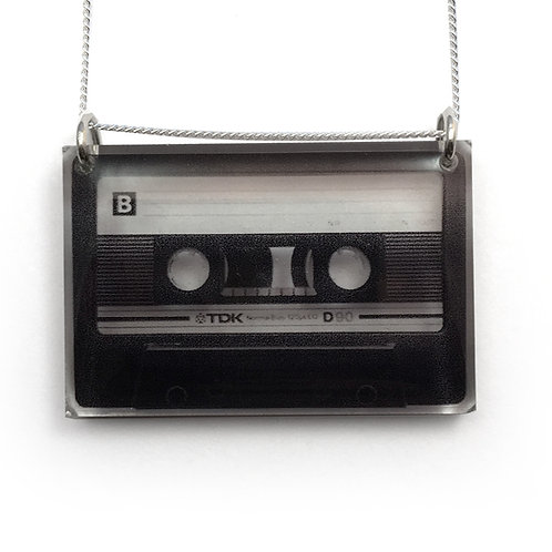 Side Mix Tape Pendant