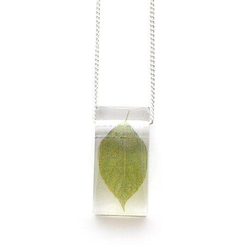 Tiny Leaf Pendant
