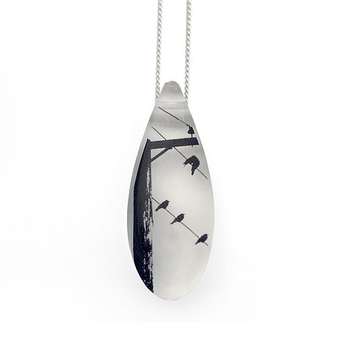 Drip Crows and Pole Pendant