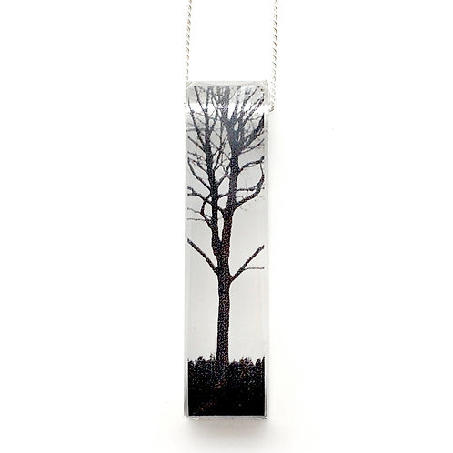 Skinny City Tree Pendant