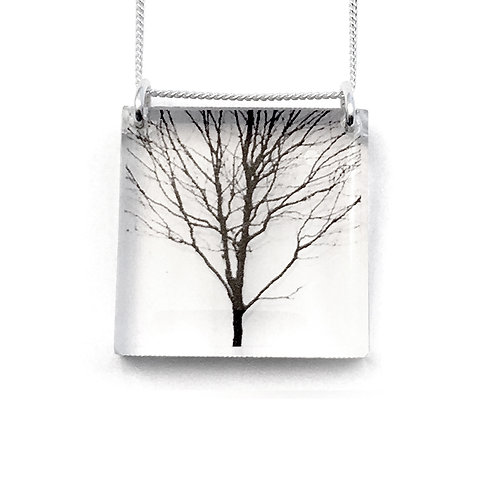 Square Tree Pendant