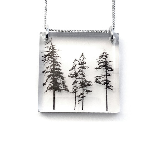 Square Forest Pendant