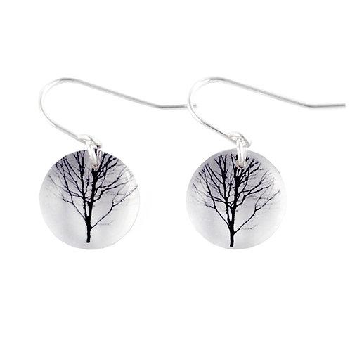Round Tree Earrings (W)