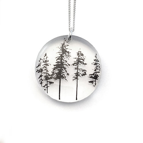 Round Forest Pendant