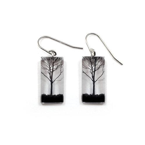 Small City Tree Earrings
