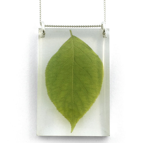 Tall Leaf Pendant