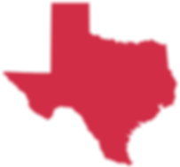 Red Texas State Silhouette