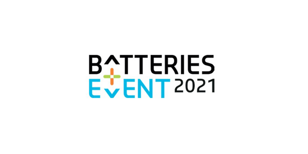 Batteries Event 2021 in Lyon (FR), Sep 29 - Oct 01, 2021