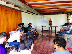 Permaculture Talk in Classroom