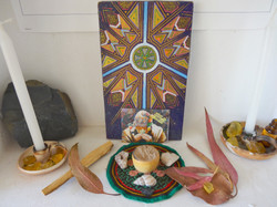 medicine altar