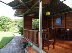 Open air cafe, Monteverde Costa Rica