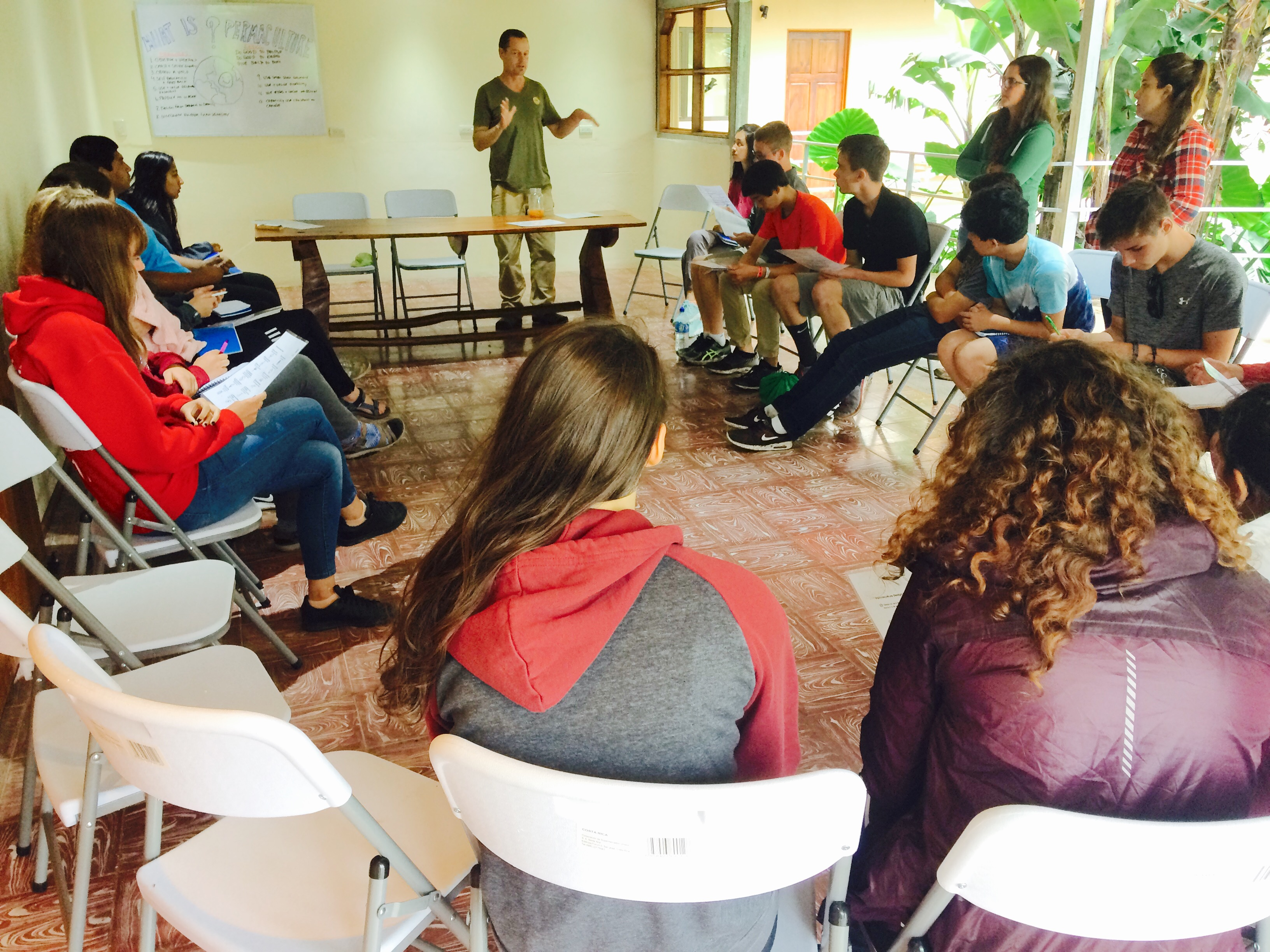 Charla de sostenibilidad Monteverde