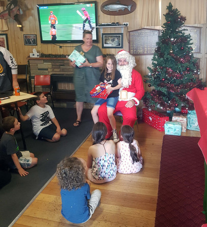 All kids receive a gift at the Annual Christmas Party