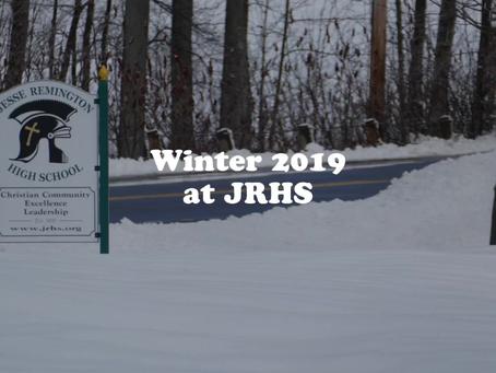 A Winter Wonderland at JRHS