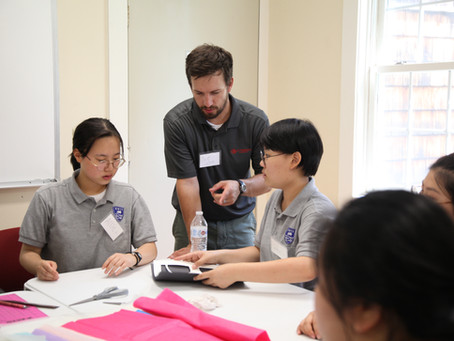 JRHS Summer Program with Korean Wales International School