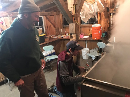 The Jesse Remington Maple Project – valuing Time and Hard Work