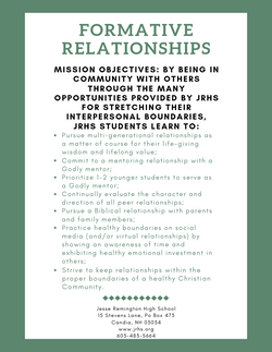 Formative Relationships (1)