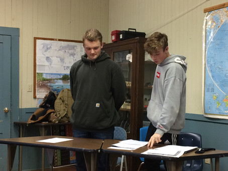 World Policy Debate Class at JRHS