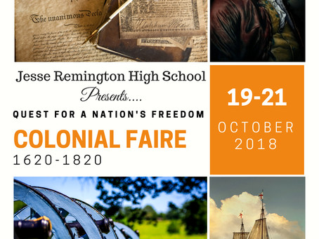 JRHS Humanities Faire: What, When, Where, Why