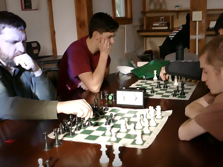 Students sharpen their planning, focus and creative thinking skills during Chess at JRHS