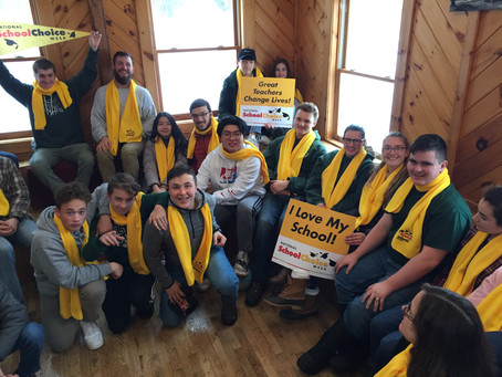 JRHS Prepares for NH School Choice Event