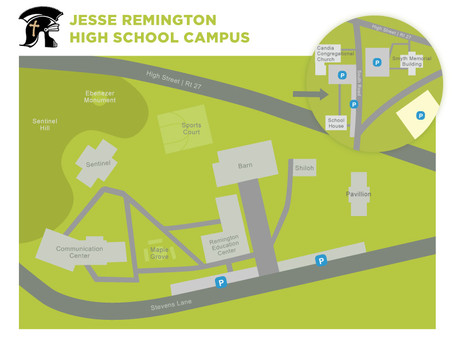 JRHS Rolls out the new campus map!