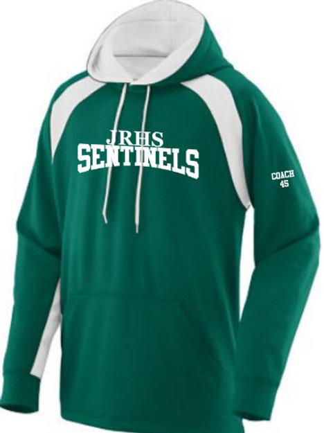 JRHS Athletic Hooded Sweatshirt w/name & #