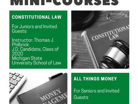 Introducing Quarter 4 Mini-Courses at JRHS